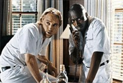 Owen Wilson and Eddie Griffin scam old folks, including those who buy tickets to  The Wendell Baker Story.