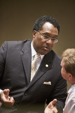 City Councilman Dwaine Caraway targeted blunts and guns in &amp;#146;09. If he goes after bourbon next, the Observer staff will have to get some new hobbies.
