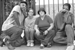 Central Dallas Ministries wants to do more than give homeless people like these food and job referrals. It wants to give them justice.
