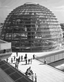 Welcome to Thunderdome: The German Reichstag was designed by the architect chosen to do a new opera hall here--but who will pay to fill the potholes?