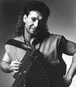 Some like it Zydeco, some like it Zyde-hot: Wayne Toups and the finest mullet since Billy Ray Cyrus captured everyone's hearts.