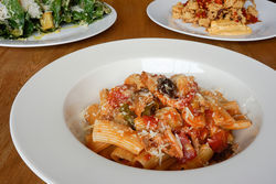 Italian-American classics get a serious upgrade at Carbone's.