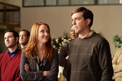 Ed Helms plays the most idealistic insurance salesman in Brown River, Wisconsin. Anne Heche joins him for a wild romp at a convention in Iowa.