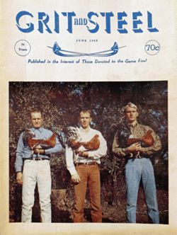 In 1969, Ratliff and his sons appeared on the cover of Grit & Steel, a cockfighting magazine.
