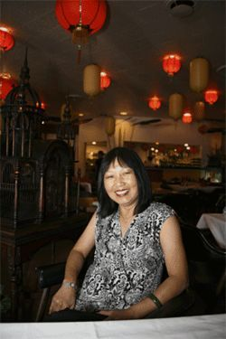 April Kao of Royal China, Dallas' oldest Chinese restaurant, says the city's Chinese restaurants must Americanize their food to survive.