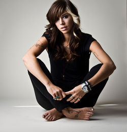 Christina Perri: loving every minute of fame.
