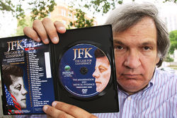 Every weekend at Dealey Plaza, Robert Groden sells books and CDs based on the House Select Committee's finding that JFK was shot from the grassy knoll.