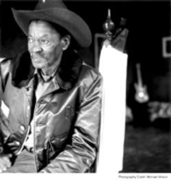 Clarence Gatemouth Brown (not pictured at this event)