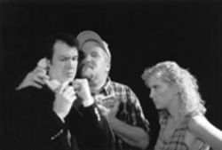 Pat Watson, Carl Savering and Andi Allen wrangle over money, sex and a trailer park in Theatre Quorum's quietly assured staging.