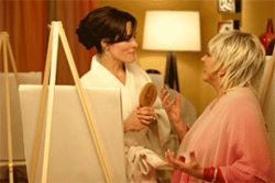 "Parker Posey with the last woman on earth we want to think of in connection with the word ""orgasm."""