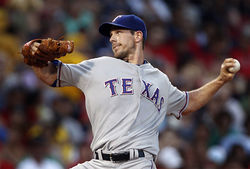 Cliff Lee: Looking good in a Rangers uniform...but for how long?