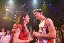 Hitting 42 cities in 60 weeks, Gabriella (Arielle Jacobs) and Troy (John Jeffrey Martin) fall in love anew at every performance of Disney's High School Musical on Tour!