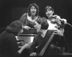 From left: Pam Dougherty, Melinda Wood Allen, Lynne Rutherford, and Katy Bowen are effortlessly appealing in Mary Murfitt's and Betsy Howie's bizarre mess of a musical revue.