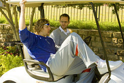 Nowitzki reflects on his summer in Australia at Irving's Hackberry Creek Country Club.