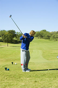 Nowitzki has few interests outside of basketball. Golf is not one of them.