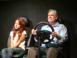 Cindy Meurthe and John S. Davies get good mileage out of Neil LaBute's seven-play evening, Autobahn, in Addison.