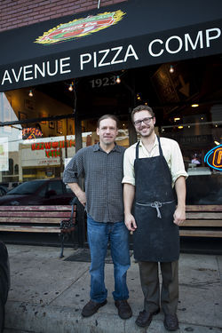 Brothers Chris Cook (left) and Sammy Mandell opened Greenville Avenue Pizza Company in 2007 because, as Cook says, &amp;#147;I wanted a place that people would be able to bring their kids.&amp;#148; Today, their business survives by serving the unpredictable late-night crowd.