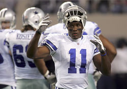 Cowboys receiver Roy Williams: