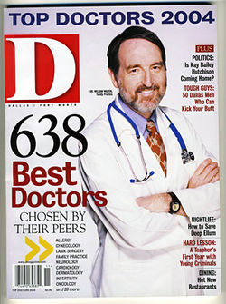 Buch has a reputation as a top orthopedic surgeon, making D magazine&#039;s list off &quot;best doctors&quot; on a regular basis.