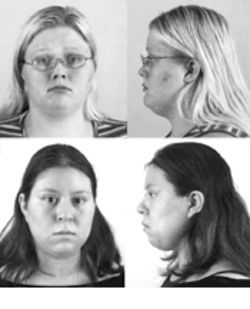 Chelsea Richardson, above, was convicted on the testimony of Susana Toledano, below.