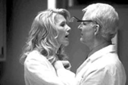 Little shop of boring: Laura Dern and Steve Martin can't give this dark comedy bite.