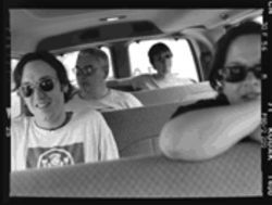 The way they were: Clark Vogeler, Mark Reznicek, Todd Lewis  and Lisa Umbarger
