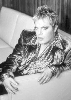 Eddie Izzard is both action transvestite and the funniest man in or out of a gown.