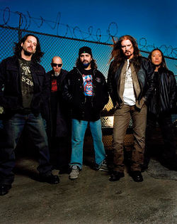 Dream Theater take goatees seriously.