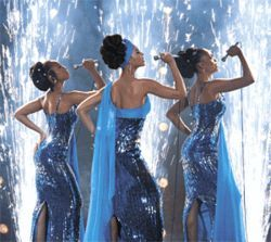 Heat wave: Dreamgirls is at its best when the production is turned down a notch.