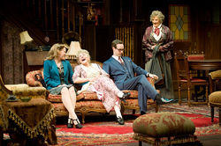 Drink in the laughs generated by Abbey Siegworth, Tovah Feldshuh, Lee Trull and Betty Buckley in Dallas Theater Center's Arsenic and Old Lace.