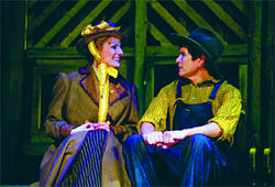 Prairie Poppins: Becca Ayers and Herndon Lackey co-star in Dallas Theater Center's Sarah, Plain and Tall.