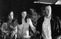 Scream, three morons: Parker Posey, Courteney Cox Arquette, and David Arquette get killed. Or maybe not.