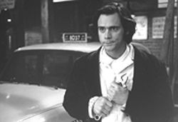 Post-post-post-modernism in full effect: Jim Carrey as Andy Kaufman as Taxi's lovable Latka