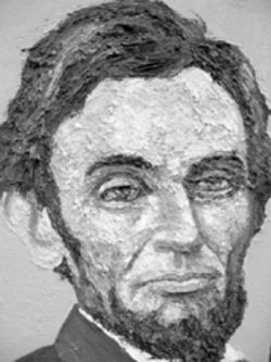 """Abe Lincoln No. 24"" by Robert Terry"