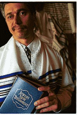 Marty Waldman, whose parents are Holocaust survivors, founded Baruch Ha Shem, the area's largest Messianic Jewish congregation.