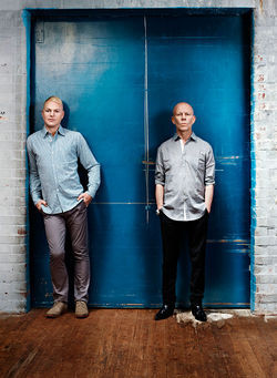 Erasure are standing on the edge of tomorrow... today.