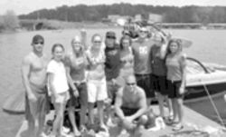 Gnarly girls grind: Lake-loving ladies learn to wakeboard at Op Girls Learn to Ride.