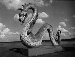The giant serpent of Crosby