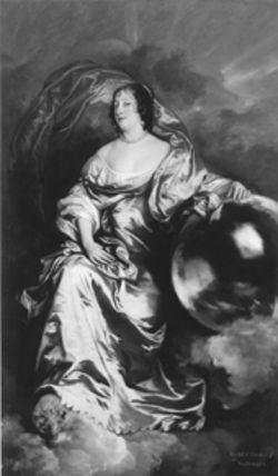 Anthony Van Dyck's Rachel de Ruvigny, Countess of Southampton, one of the many mugs on view at the Kimbell.