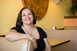 Restaurateur Elizabeth Villafranca, one of a string of Latino candidates unable to break Farmers Branch's Anglo voting bloc.