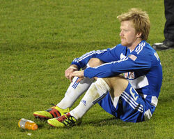 Local soccer fans felt the anguish of FC Dallas midfielder Dax McCarty as his team lost the MLS Cup championship in overtime to the Colorado Rapids on November 21.