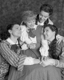 Sisterly love: The Fort Worth Opera's little women (Sandra Piques Eddy as Meg, Jennifer Dudley as Jo, Coral Owdom as Amy and Tawny Seward as Beth)