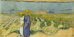 "Van Gogh's ""Women Crossing the Fields"""