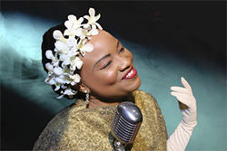 Contemporary Theatre of Dallas' Denise Lee clicks directly into the essence of jazz icon Billie Holiday.