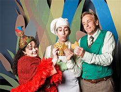 Arianna Movassagh, Brian Hathaway and Bob Hess are just a tad(pole) adorable in Dallas Children's Theater's big musical, A Year with Frog and Toad.