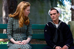 Amy Adams and Joaquin Phoenix shake the Master's heart.
