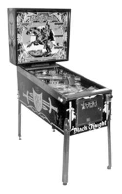 Tilt-a-world: The Pinball Fest offers games such as the early Black Knight.