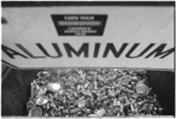 Unlike most other materials picked up at the curb, aluminum is one of the commodities that actually has a consistently strong market, recycling experts say.