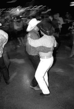 Bamboleo's, a gay club near Oak Lawn, has devoted its  biggest dance floor to the ranchera music favored by  many of North Texas' Hispanic immigrants.