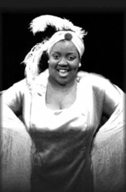 Lady sings the blues: Sheran Goodspeed-Keyton plays Bessie Smith.